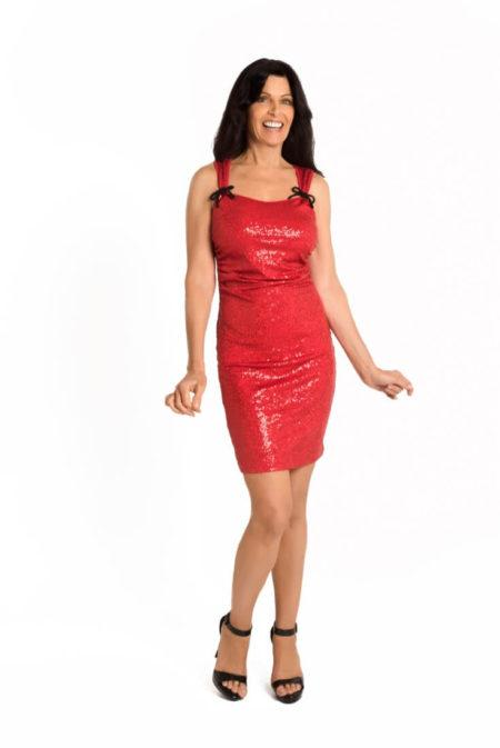 Klaipeda Stretch Sequin Dress